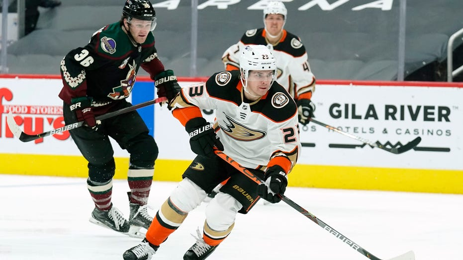 Gibson stops 31 shots in Ducks' 1-0 win over Coyotes