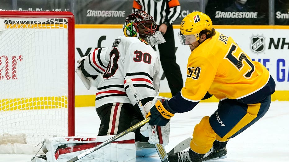 Josi gives Predators 3-2 win over Blackhawks in OT