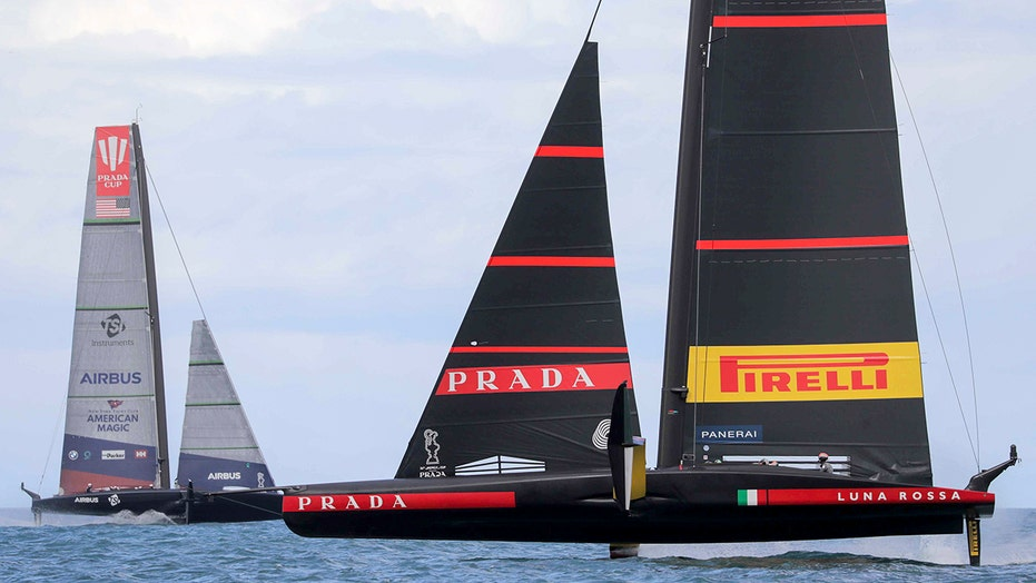 US team sure of continuing in America's Cup after capsize