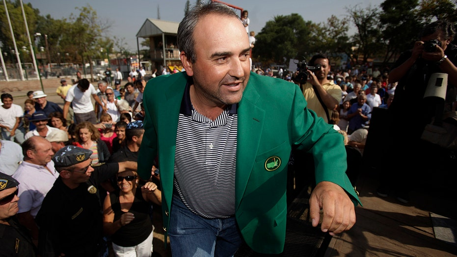 Angel Cabrera, 2009 Masters winner, arrested in Brazil on multiple charges, officials say
