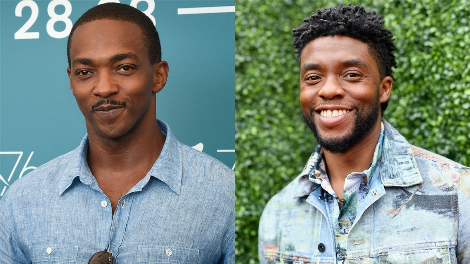 Marvel's Anthony Mackie on Netflix movie starring the late Chadwick Boseman: 'Too emotional' to watch