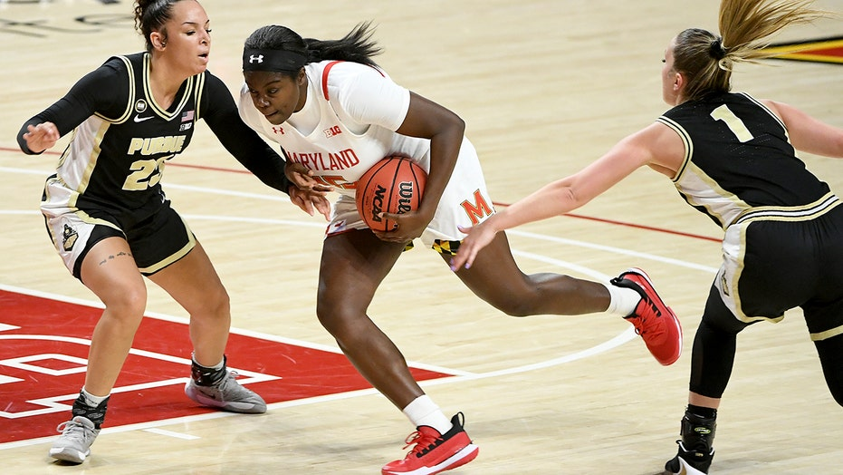 Owusu, Miller lead No. 12 Maryland women to rout of Purdue
