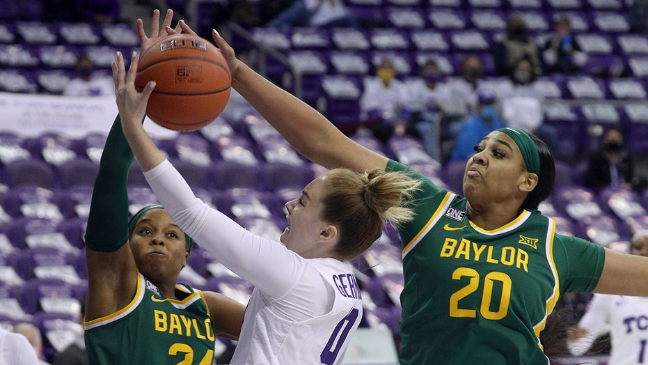 No. 7 Baylor women beat TCU 74-50, both head coaches absent