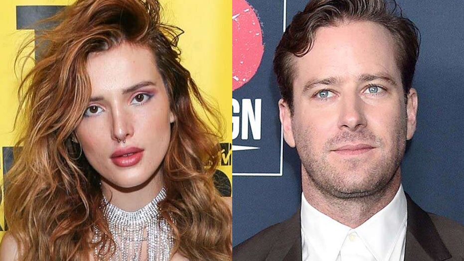 Bella Thorne defends Armie Hammer against 'cannibal' allegations: 'I honestly can't believe this'