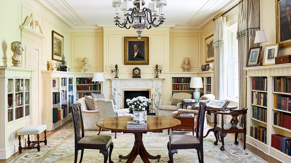See inside Blair House, Kamala Harris' temporary home in Washington, DC