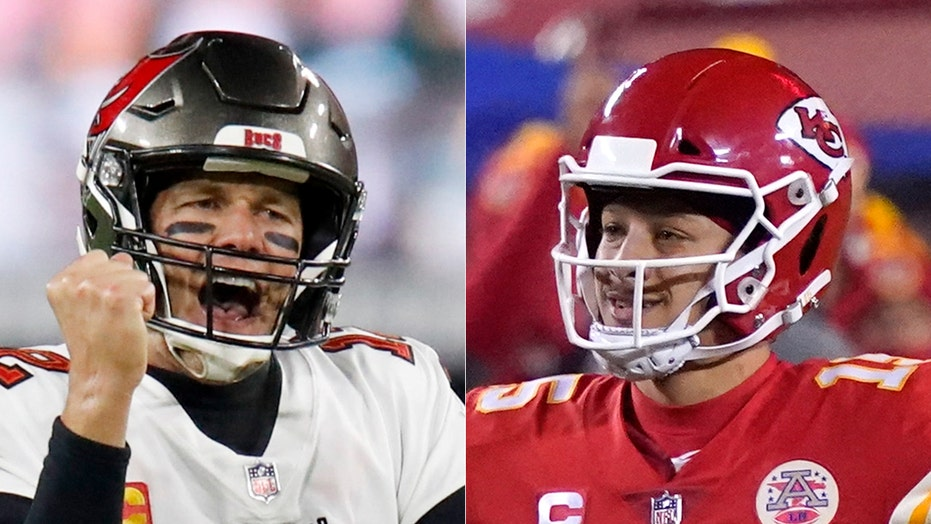 Patrick Mahomes on meeting Tom Brady in Super Bowl LV: 'It's something special'