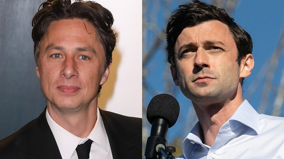Zach Braff lobbies to play Jon Ossoff on 'Saturday Night Live' amid Georgia Senate runoff election