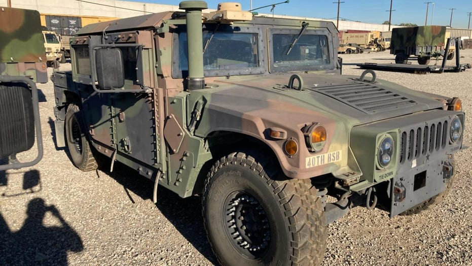 Military Humvee stolen from California National Guard facility; FBI offers 10G reward