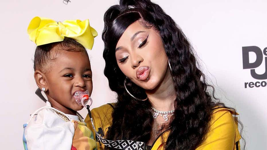 Cardi B defends buying 3-year-old daughter reported $150,000 necklace: 'My baby is overly spoiled'