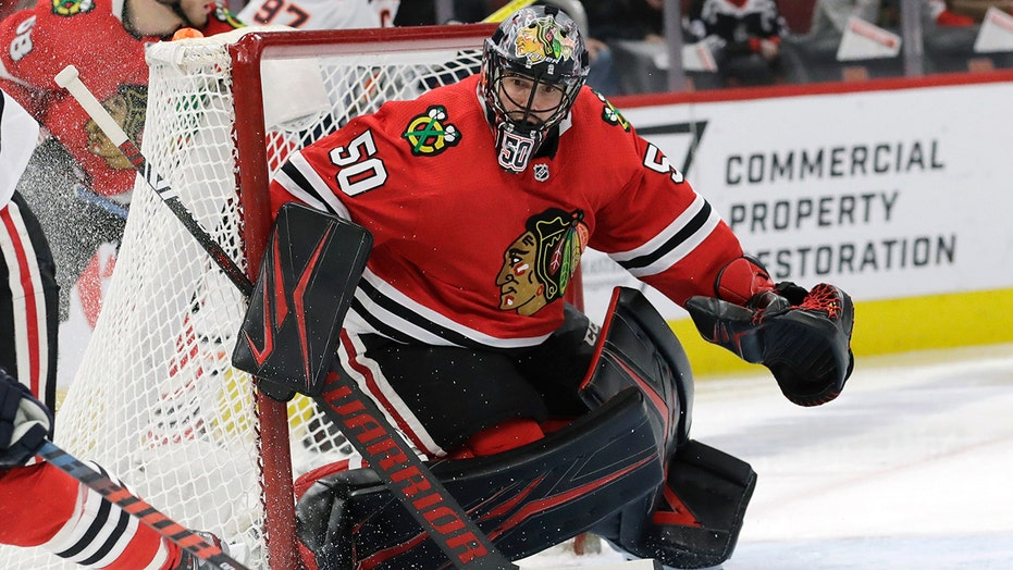 Devils goalie Corey Crawford retires on eve of NHL season
