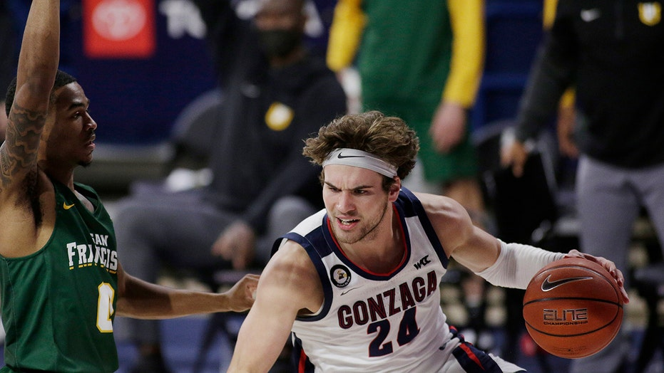 Kispert leads No. 1 Gonzaga past San Francisco 85-62