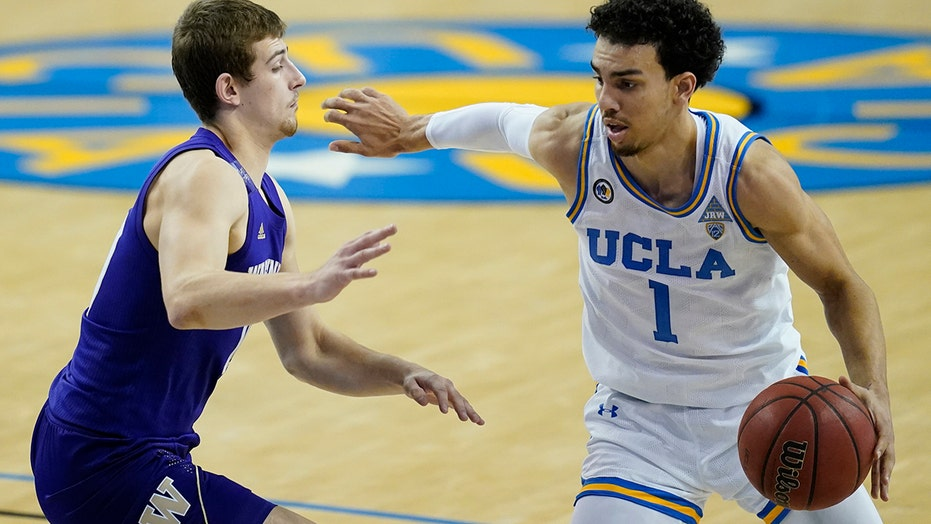 First-place UCLA beats Washington 81-76 for 6th straight win
