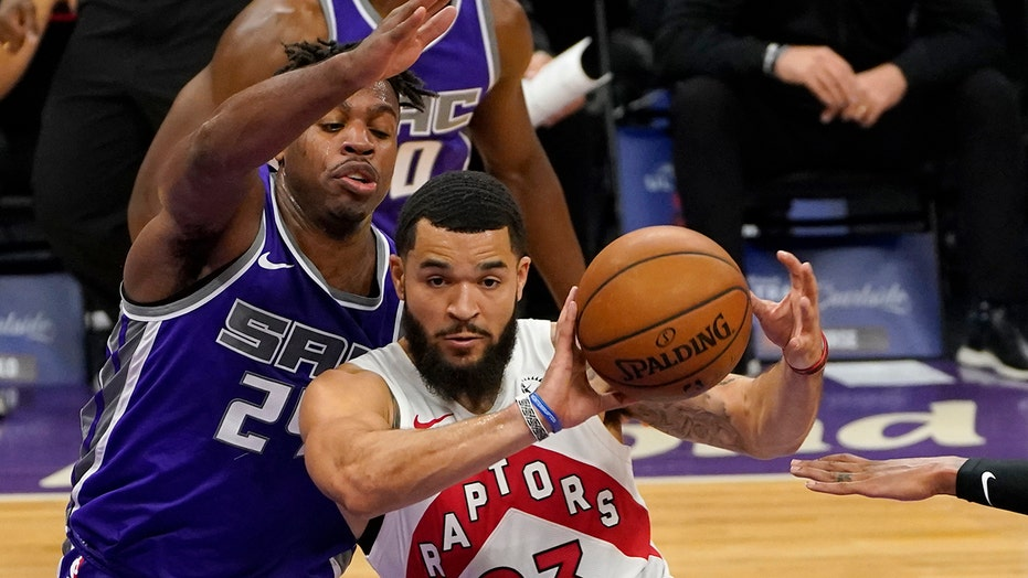 Raptors set franchise scoring record, win 144-123 over Kings