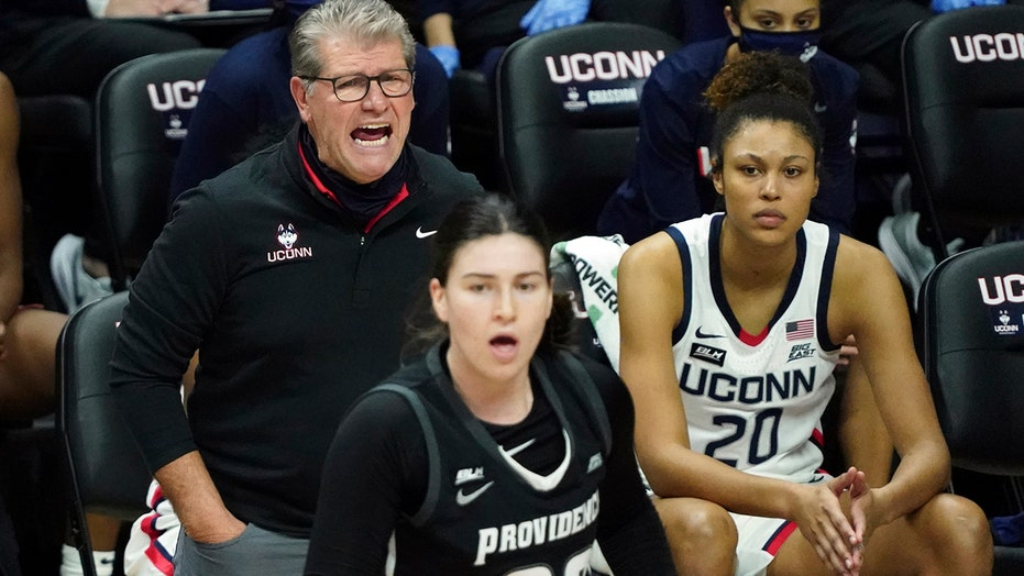 UConn beats Providence 87-50 as Auriemma reaches milestone
