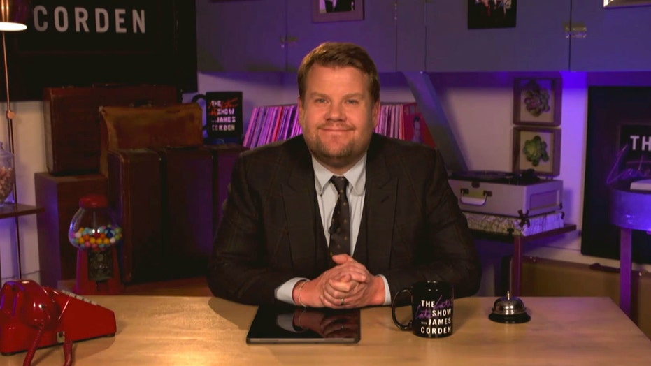James Corden addresses Capitol Hill riots, shares message of hope