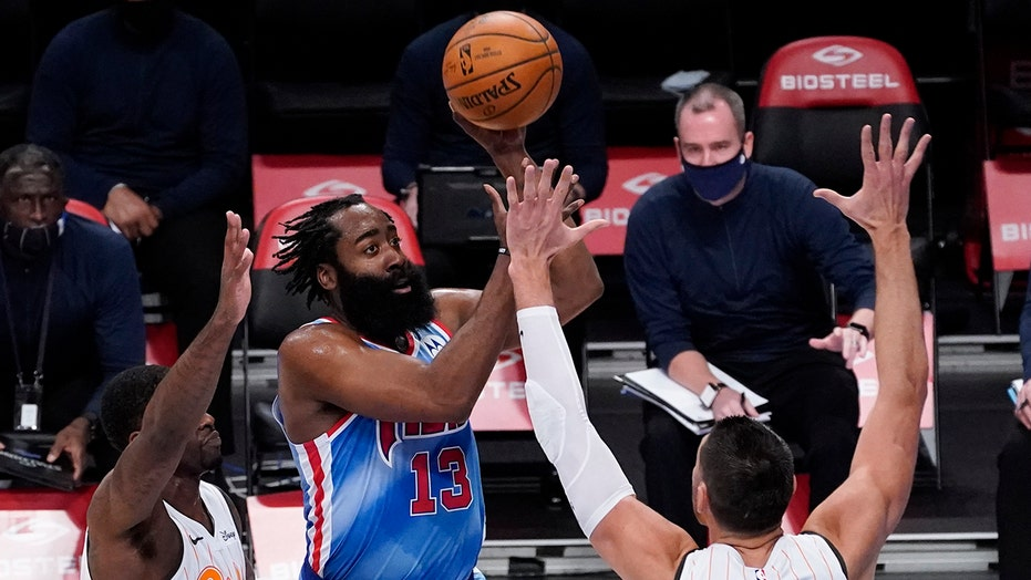 James Harden makes NBA history in Nets debut