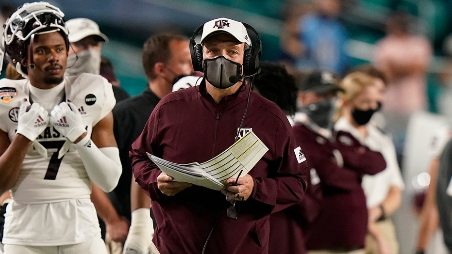 Texas A&M runs past North Carolina in Orange Bowl, 41-27
