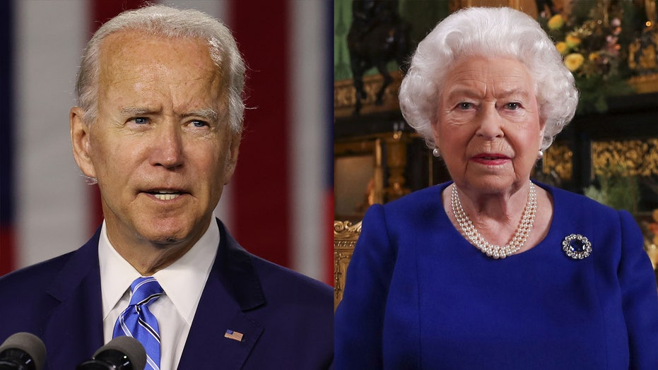 Ahead of inauguration, Biden received message from Queen Elizabeth