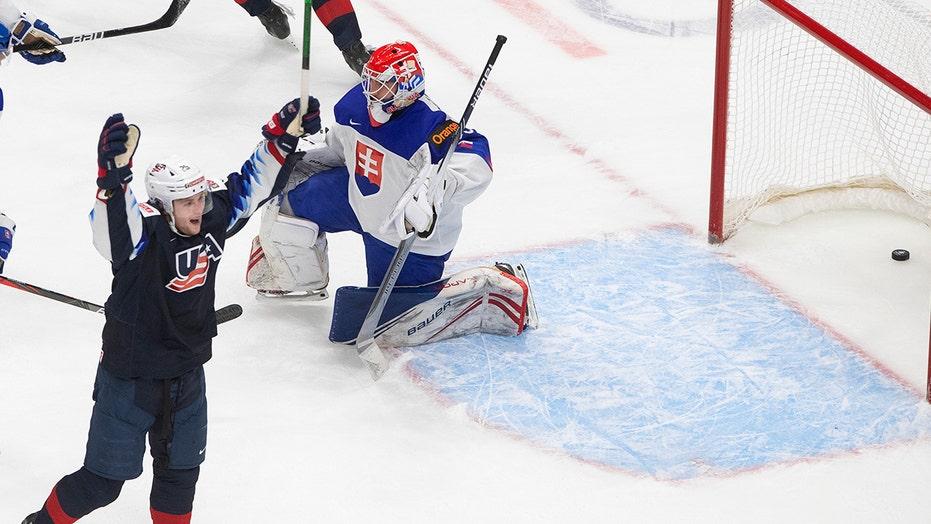 Farinacci, Knight lead US past Slovakia 5-2 in world junior