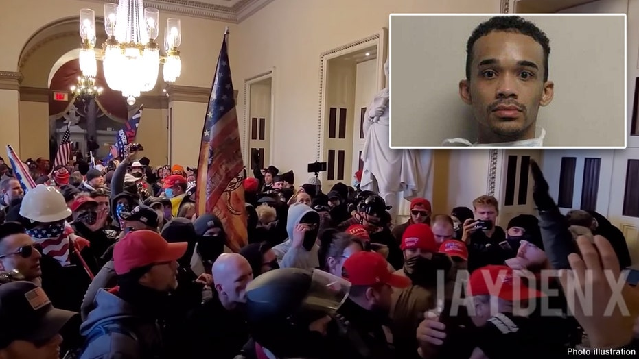 Left-wing activist seen at Capitol wore gas mask, said he had knife during riot: feds
