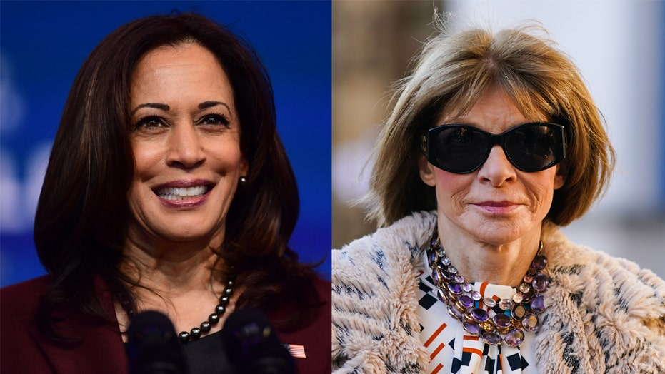 Kamala Harris' Vogue cover defended by Anna Wintour amid controversy