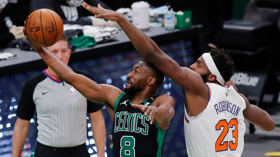 Kemba Walker returns, but Knicks blow out Celtics 105-75