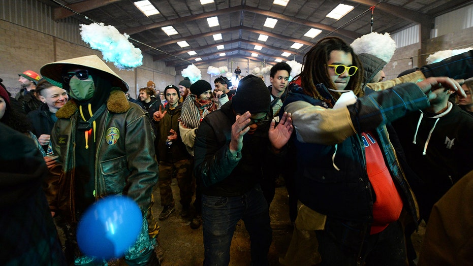 French police bust illegal rave that drew 2,500 people on New Year's Eve