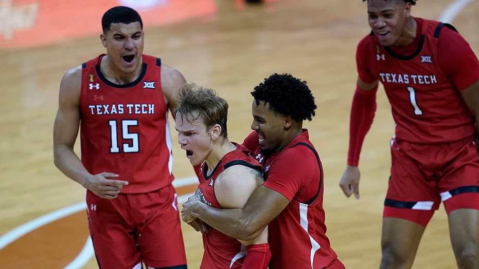 McClung lifts No. 15 Texas Tech past No. 4 Texas, 79-77