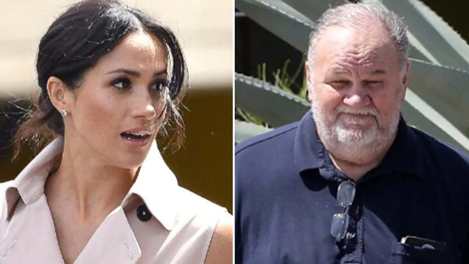 Meghan Markle's estranged father Thomas published private letters because he felt 'vilified' by press: report