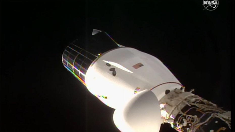 SpaceX's Crew Dragon cargo ship departure from space station postponed because of weather