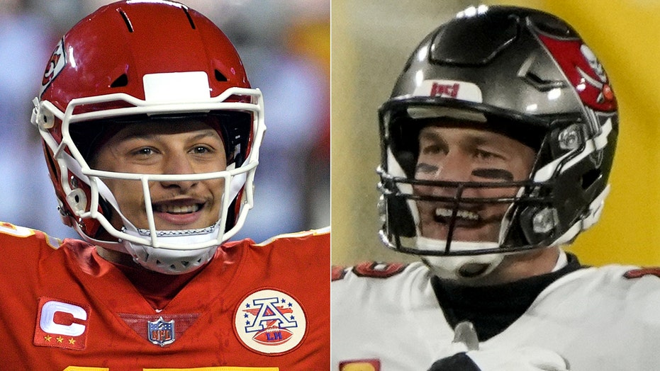 Tom Brady, Patrick Mahomes' age disparity shown in 2 incredible tweets
