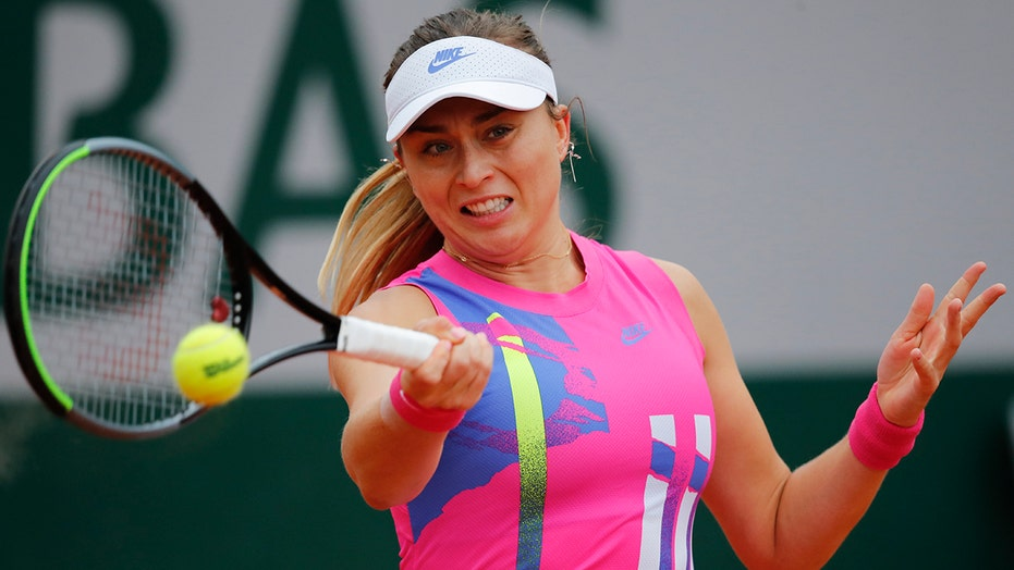 Spanish tennis player says she tested positive for COVID-19