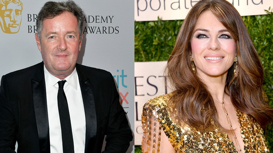 Piers Morgan calls Elizabeth Hurley 'thirsty and creepy' after topless snap goes viral