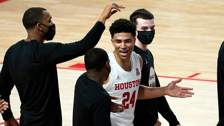 Grimes, No. 11 Houston rally for 70-63 win over Wichita St