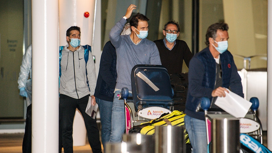 Players arrive for Australian Open; straight into quarantine