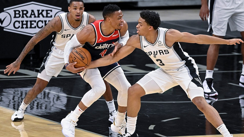 Wizards fall to Spurs 121-101 in return from COVID-19 layoff