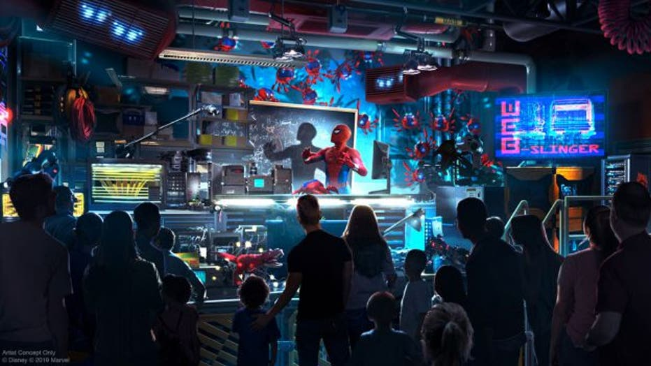 Tom Holland previews Disney's 'Spider-Man' ride at Avengers Campus: 'Most I've ever felt like Spider-Man'