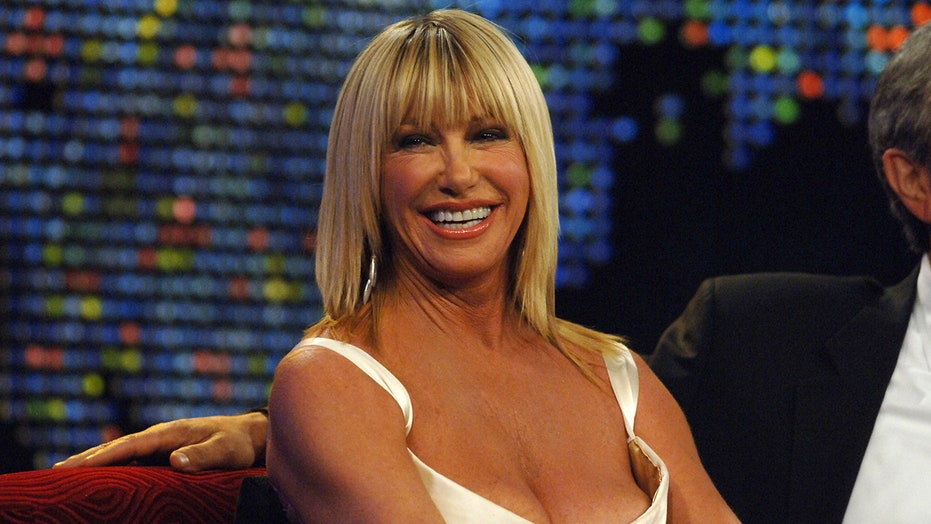 Suzanne Somers rocks short shorts while 'twinning' with granddaughter: 'I'm a different kind of grandmother'