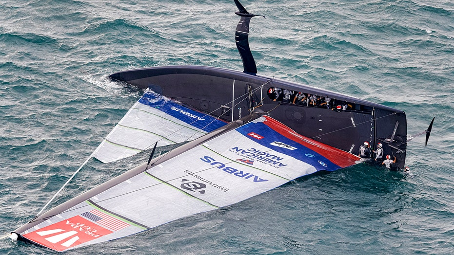 American Magic repaired, ready for America's Cup comeback