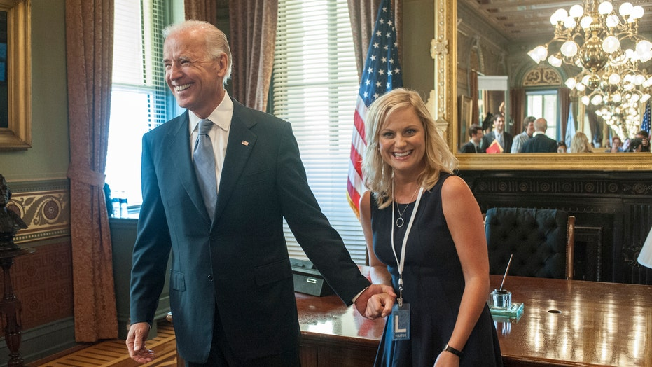 Joe Biden's inauguration makes 'Parks and Rec' trend as fans recall Leslie Knope's love for then-VP