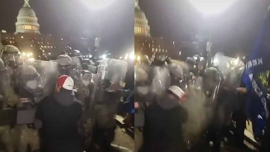 Illinois man charged in Capitol riot after TikTok video allegedly shows him fighting National Guard