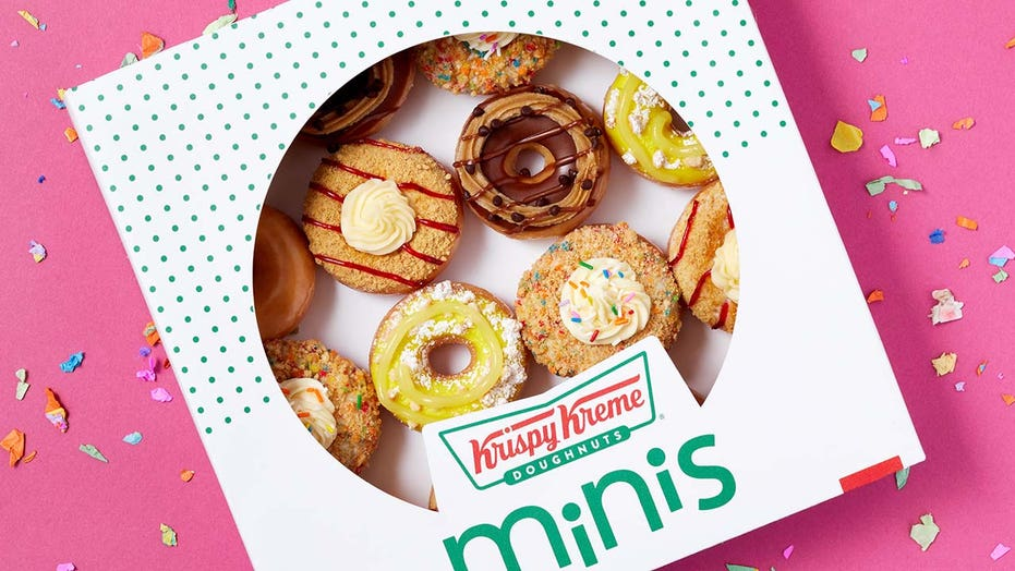 Krispy Kreme debuts 'Dessert Mini' doughnut collection with flavors inspired by non-doughnut desserts