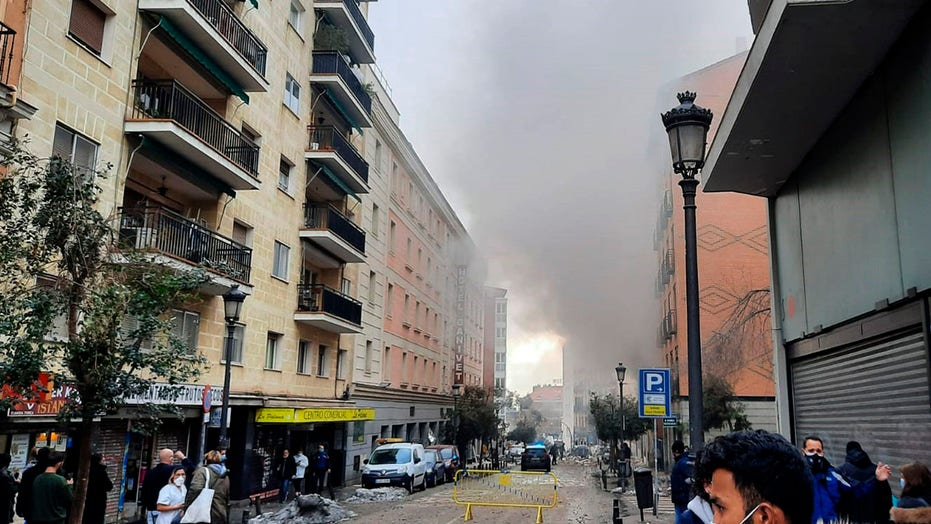 Madrid blast kills 2, destroys building; cause linked to gas leak, mayor says