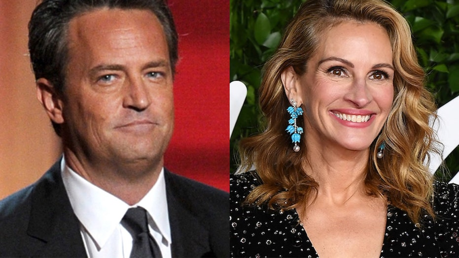 'Friends' star Matthew Perry flirted with Julia Roberts 'over fax' to land guest appearance, show writer says