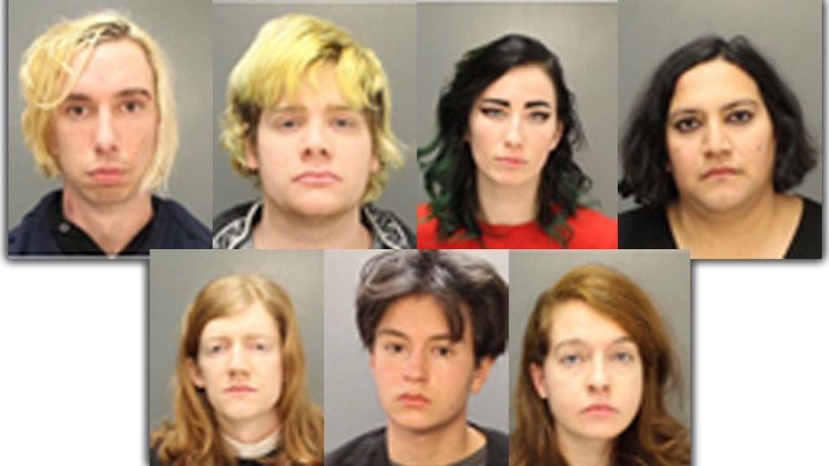 Antifa rioters in Philadelphia allegedly vandalized federal buildings, 7 arrested: Police