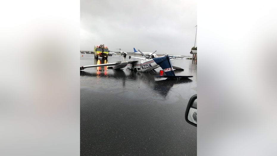 Tornado strikes Florida, damages Tallahassee airport