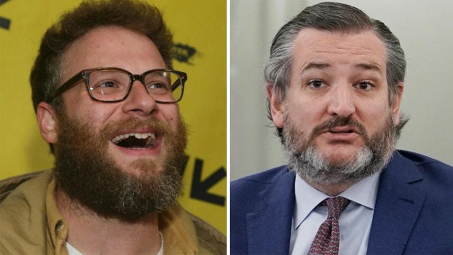 Ted Cruz slams 'rich' Seth Rogen after actor calls him a 'fascist' in spat over Biden's Paris climate pledge