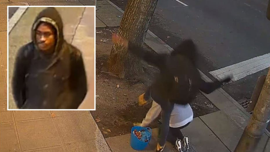Seattle police search for man who kicked two women in the head in attacks caught on video