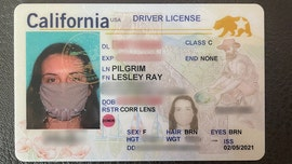California woman's new ID has photo of her wearing a mask