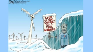 Political cartoon of the day: Global chill